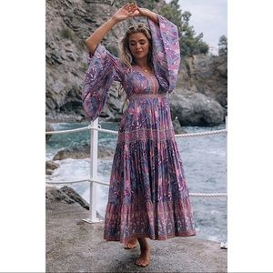 Spell & the Gypsy Collective Bianca Dress Wisteria